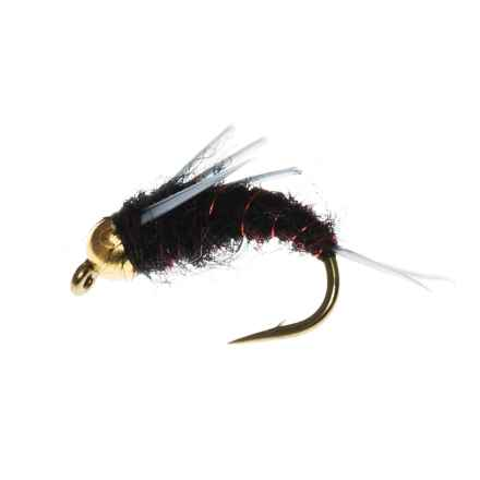 Black's Flies Bead Head North Fork Special Nymph Flies - Dozen in Black - Closeouts