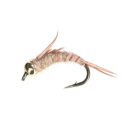 Black's Flies Bead Head North Fork Special Nymph Flies - Dozen in Tan - Closeouts
