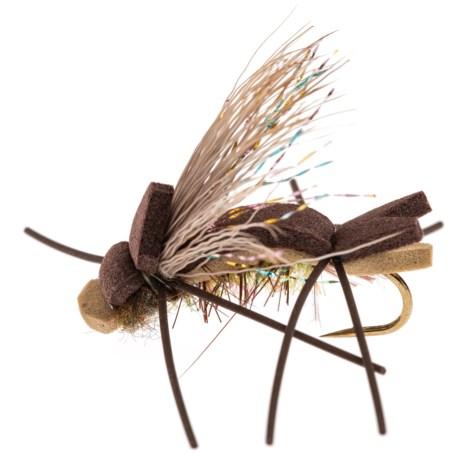 Black's Flies Black's Flies Amy's Ant Dry Fly - Dozen in Olive