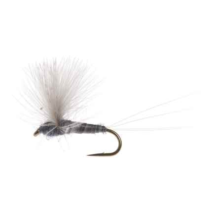 Black's Flies CDC Biot Comparadun PMD Dry Fly - Dozen in Grey - Closeouts