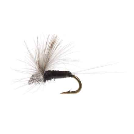 Black's Flies CDC Biot Comparadun PMD Dry Fly - Dozen in Trico - Closeouts