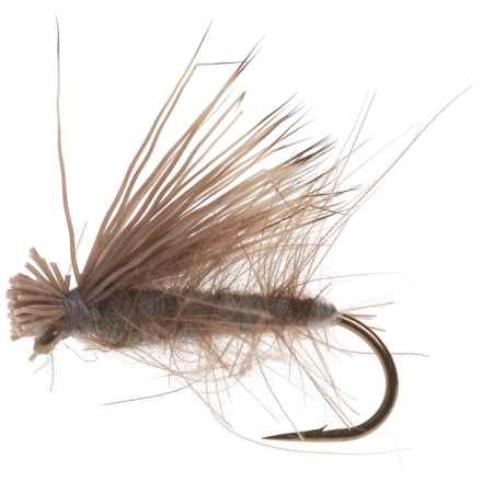 Black's Flies CDC Elk Caddis Dry Fly - Dozen in Dun - Closeouts