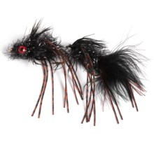 Black's Flies Circus Streamer Flies - Dozen in Black - Closeouts