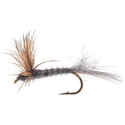 Black's Flies Comparadun Dry Fly - Dozen in Grey - Closeouts