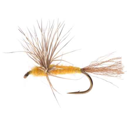 Black's Flies Comparadun Dry Fly - Dozen in Sulfur - Closeouts