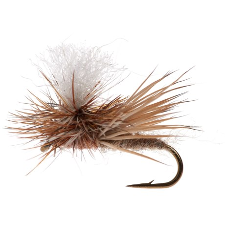 Black's Flies Dancing Caddis Dry Fly - Dozen in Tan