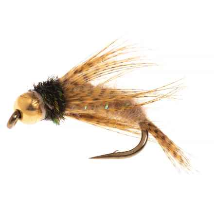 Black's Flies GB Bird of Prey Nymph Fly - Dozen in Tan - Closeouts