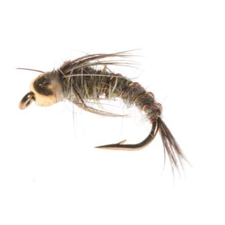 Black's Flies Gold Bead Baetis Nymph Fly - Dozen in See Photo - Closeouts