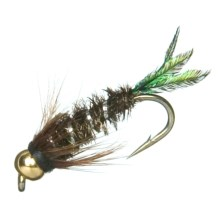 Black's Flies Gold Bead Zug Bug Nymph Flies - Dozen in Zug Bug - Closeouts