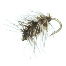 Black's Flies Griffith Gnat Dry Flies - Dozen in Griffith - Closeouts