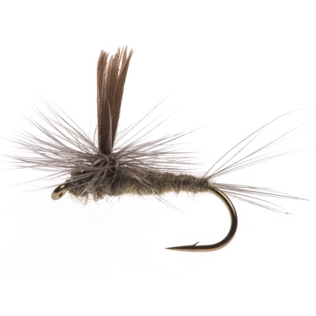 Black's Flies Parachute Baetis Dry Fly - Dozen in See Photo