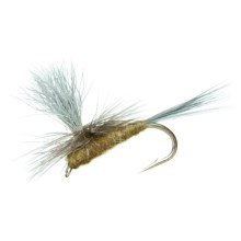 Black's Flies Parachute BWO Dry Flies - 12 in Blue Wing Olive - Closeouts