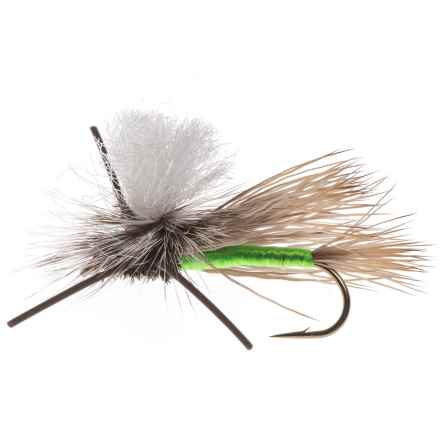 Black's Flies PMX Dry Fly - Dozen in Chartreuse - Closeouts