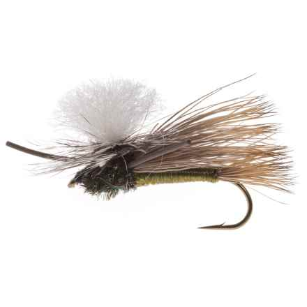 Black's Flies PMX Dry Fly - Dozen in Olive - Closeouts
