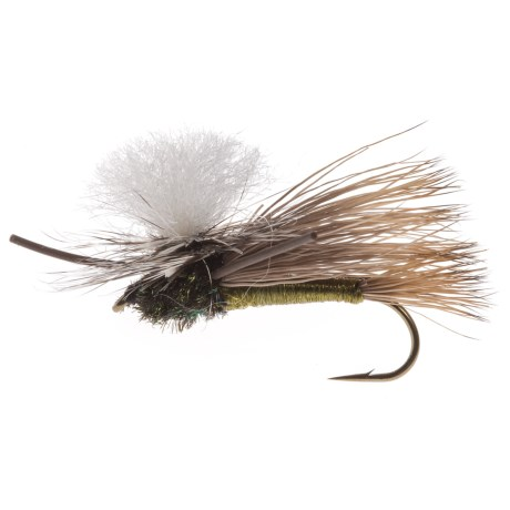 Black's Flies PMX Dry Fly - Dozen in Olive