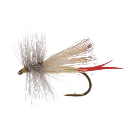 Black's Flies Sick Yellow Sally Dry Fly - Dozen in Yellow - Closeouts