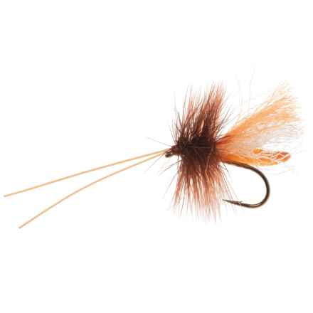Black's Flies Slickwater Caddis Dry Fly - Dozen in Orange - Closeouts