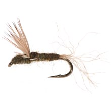 Black's Flies Sparkle Dun Dry Flies - Dozen in Blue Winged Olive - Closeouts