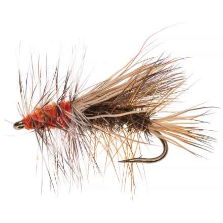 Black's Flies Stimulator Dry Flies - 12 in Peacock - Closeouts