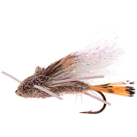 Black's Flies Tarantula Hare's Ear Dry Fly - Dozen in Natural - Closeouts