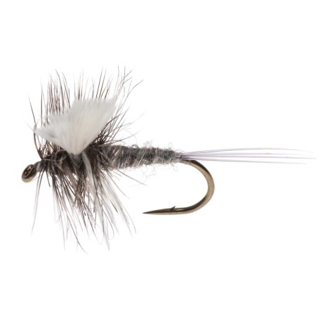 Black's Flies Thorax White Wing Dry Fly - Dozen in Adams White Wing