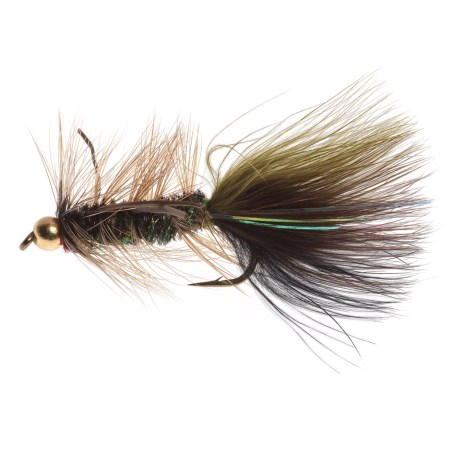 Black's Flies Tung Rubberleg Thin Mint Streamer Fly - Dozen in See Photo