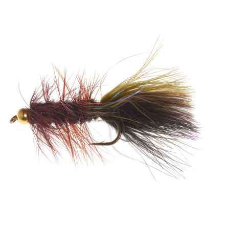 Black's Flies Tung Thin Mint Streamer Fly - Dozen in See Photo - Closeouts