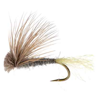 Black's Flies X Caddis Dry Fly - Dozen in Grey - Closeouts