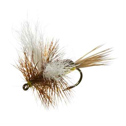 Black's Fliles Humpy Dry Flies -12 in Royal/Yellow - Closeouts