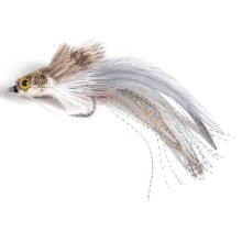 Black's Swimming Baitfish Flies - Dozen in Shad - Closeouts