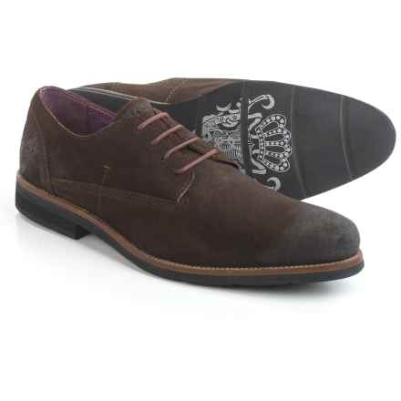 Blackstone Am05 Oxford Shoes - Leather (For Men) in Ebony - Closeouts