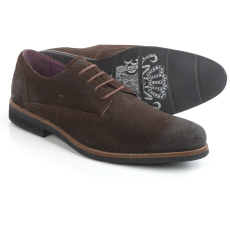 Blackstone Am05 Oxford Shoes - Leather (For Men) in Ebony