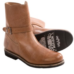 Blackstone AW14 Boots - Leather, Pull-Ons (For Women) in Cognac