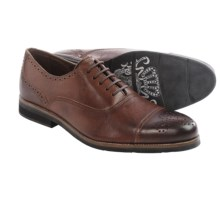 Blackstone CM03 Oxford Shoes - Cap Toe (For Men) in Seal - Closeouts