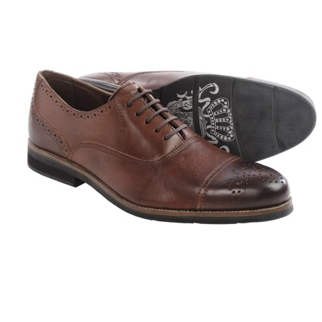 Blackstone CM03 Oxford Shoes Cap Toe (For Men)