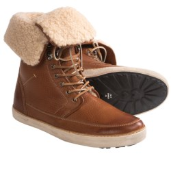 Blackstone CM07 Boots - Shearling Lining (For Men) in Ember