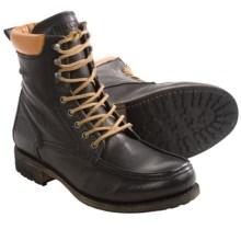 Blackstone CM14 Boots - Leather, Lace-Ups (For Men) in Black - Closeouts