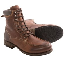 Blackstone CM14 Boots - Leather, Lace-Ups (For Men) in Old Yellow - Closeouts