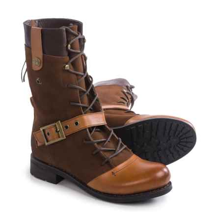 Blackstone CW66 Boots - Leather-Suede (For Women) in Praline - Closeouts