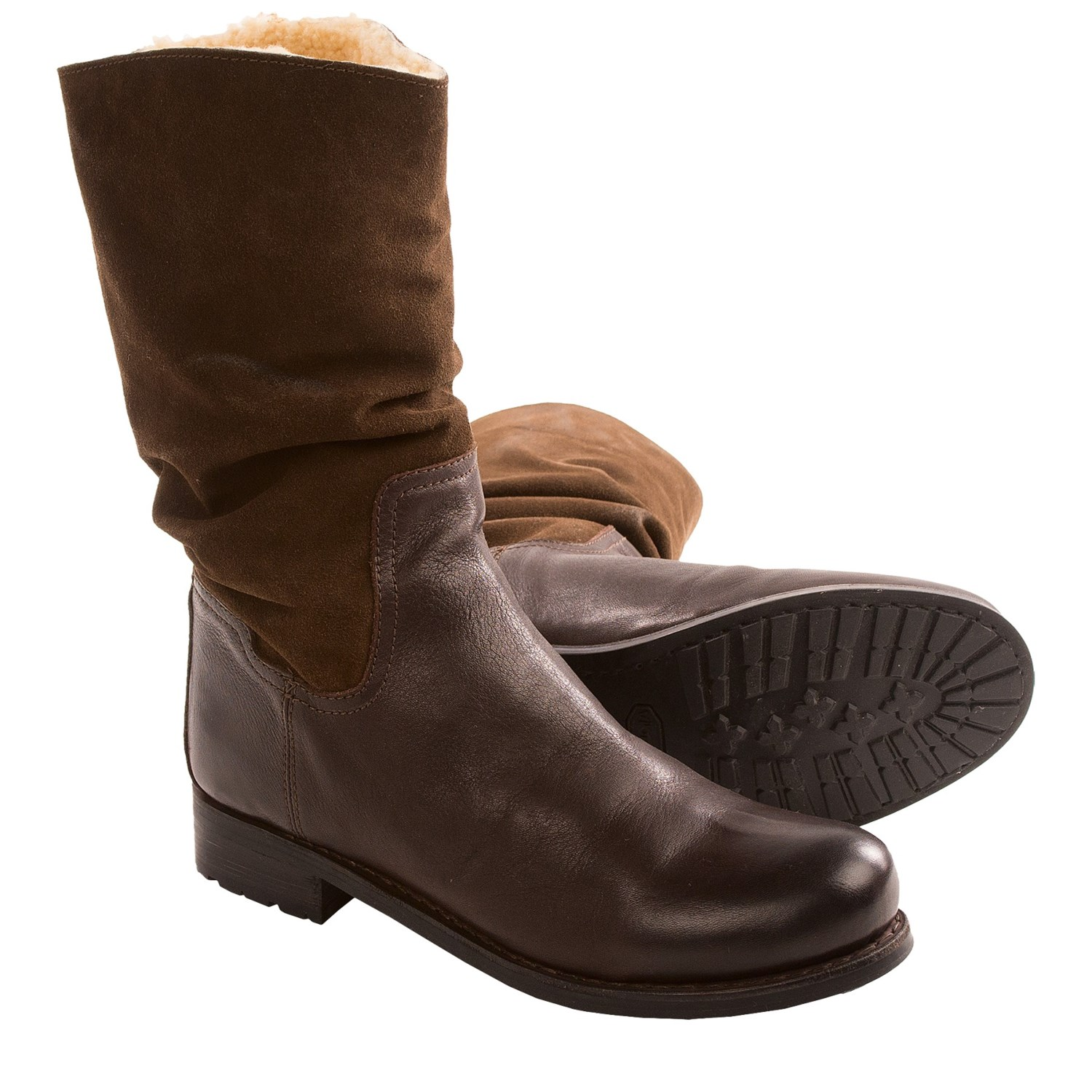 Born Yuma Shearling Boots (For Women