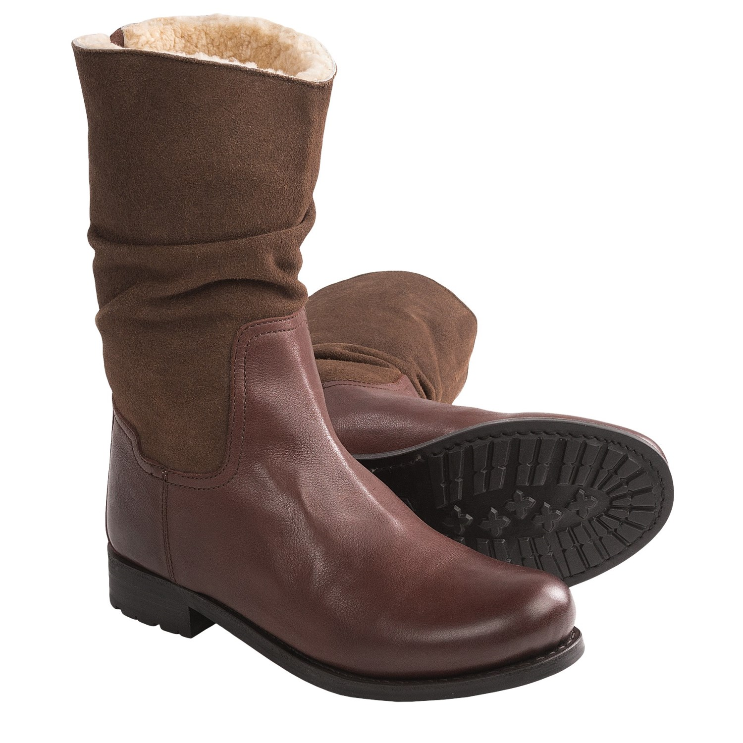 sheepskin lined boots for santa barbara institute