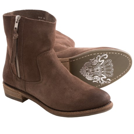 Blackstone DL34 Ankle Boots (For Women) in Acajou Suede