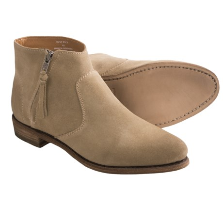 Blackstone DL55 Ankle Boots - Suede (For Women) in Rock