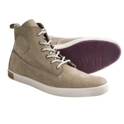 Blackstone DM51 High-Top Shoes - Leather (For Men) in Taupe