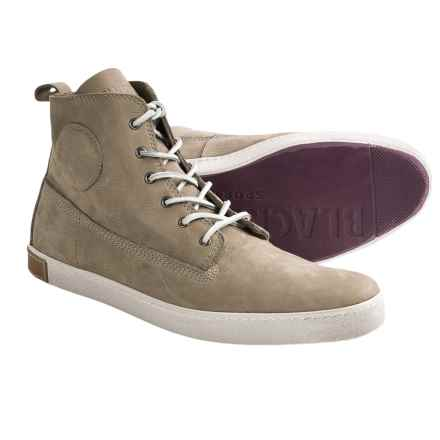 Blackstone DM51 High-Top Shoes - Leather (For Men) in Taupe - Closeouts