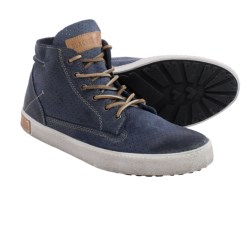 Blackstone FM23 Slip Sueded High-Top Sneaker (For Men) in Jeans