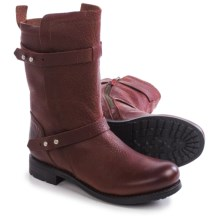 Blackstone GL58 Pull-On Boots - Leather (For Women) in Burgundy - Closeouts