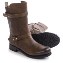 Blackstone GL58 Pull-On Boots - Leather (For Women) in Gull - Closeouts
