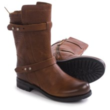 Blackstone GL58 Pull-On Boots - Leather (For Women) in Old Yellow - Closeouts