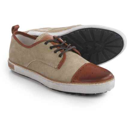 Blackstone M22 Sneakers - Canvas-Leather (For Men) in Sand/Ember - Closeouts